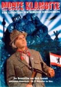 Poster of Gerd Conradt's documentary Monte Klamotte. Werbeplakat Monte Klamotte, Dokumentarfilm von Gerd Conradt