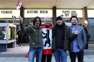 Gerd Conradt, Christoph Mödersheim, Marko Schmitz, Berlin, Mauerweg, wall, relay, Mauerwegstafette